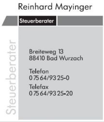 Steuerberater Mayinger